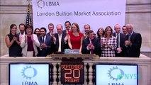 The London Bullion Market Association Visits the New York Stock Exchange