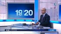France 3 Lorraine - 19/20 du 28 juillet 2015 - Étiage du canal des Vosges