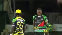Awesome Reaction Of Bowler After Out Batsman In Caribbean League Cricket
