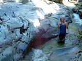 natural waterslide (okanagan B.C.)