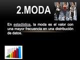 MODA, MEDIA Y MEDIANA CON EXCEL