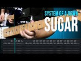 System Of A Down - Sugar (como tocar - aula de guitarra)