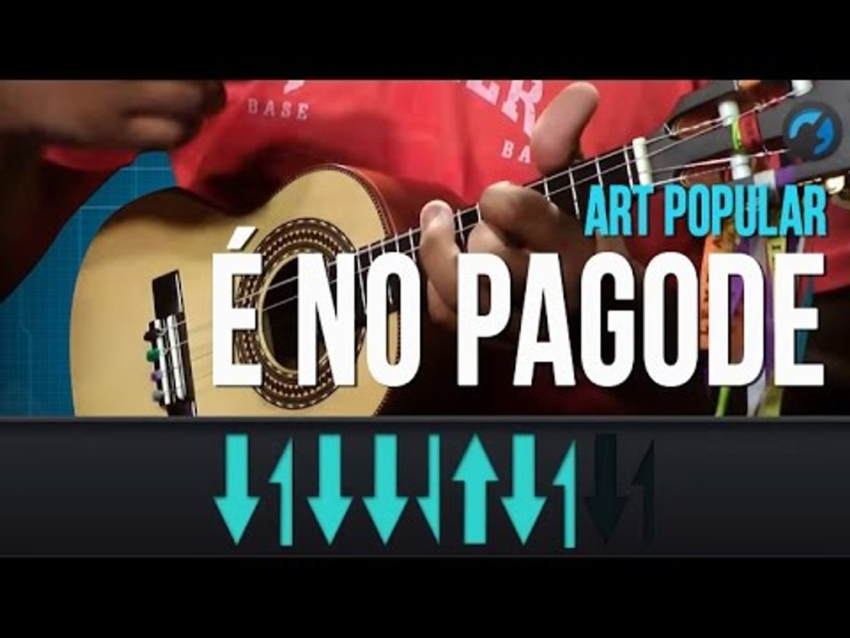 Art Popular - É No Pagode (como tocar - aula de cavaquinho)