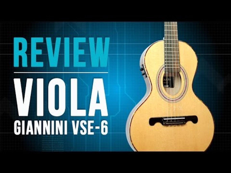 Conheça a viola da Giannini VSE-6 - TV Cifras