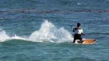 How to Jibe a Surboard while Kitesurfing - How to Kiteboard