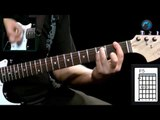Red Hot Chili Peppers - Dani California (como tocar - aula de guitarra)