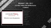 Annonce Occasion PEUGEOT 508 SW 2.0 HDi 140ch FAP BVM6 Active 2011
