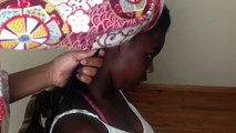 How To- Styling Natural Hair (flat twist+two strand twist+curls)