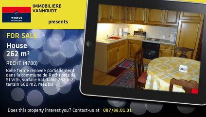 For Sale - House - RECHT (4780) - 262m²