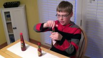 11-yr-old eats Chocolate Bar From Hell, Ghost Pepper jerky and more!! : Spicy Food Review