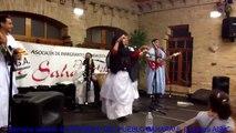 Grupo musical Western Sahara. Baile saharaui. Sahara occidental