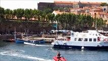 Collioure: Les plages - Musique de Enya, Émile Vacher et Loreena McKennitt