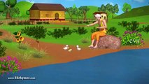 Duck And Golden Egg Story 3D Animation Telugu Stories for children Aesop Fables