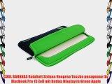 COOL BANANAS RainSuit Stripes Neopren Tasche passgenau f?r MacBook Pro 15 Zoll mit Retina Display