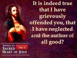 Heart of Jesus ,  Day 2 - Novena to the Sacred Heart of Jesus ,  jesus prayer ,  jesus messages