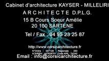 Architecture et Architecte DPLG en Corse / Chantier en cours pour l'office du Tourisme du Valinco