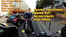 ROAD RAGE ★ STREET RETARD FIGHTER: Street Fighter, Motorcycle, Close Call, Paris, Retard