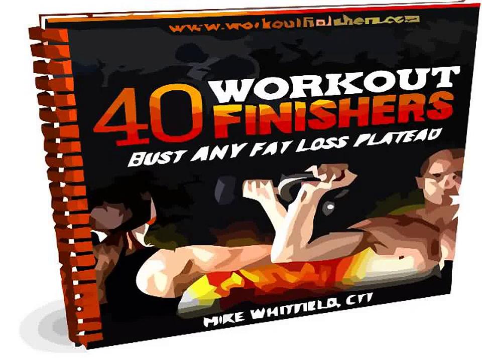 40 Workout Finishers PDF   Good Workout Finishers