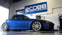 COBB Tuning - Dyno 236 WHP/ 167 FT/LBS- 2007 Honda S2000- COBB Tuning Surgeline