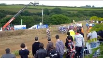 impressionnant circuit de Moto cross !!!