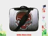 TaylorHe 15 Zoll 156 Zoll Notebook Tasche Schultertasche mit Muster Laptoptasche mit Griff