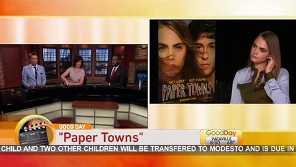 Most awkward interview ever? Cara Delevingne told to 'take a nap' whilst promoting Paper Towns