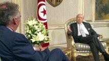Rencontre avec Le président tunisien Béji Caïd Essebsi