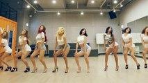 Des danseuses coréennes très talentueuses et très très belles! Synchro parfaite