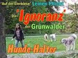 Arrogante Hundebesitzer-Auf der Eierwiese-München Grünwald