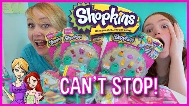 SHOPKINS SEASON 3 Shopping Cart, MicroLites, 5pk, 12pk and Blind Baskets