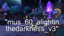 World of Warcraft: Warlords of Draenor Music: Draenei/Auchindoun
