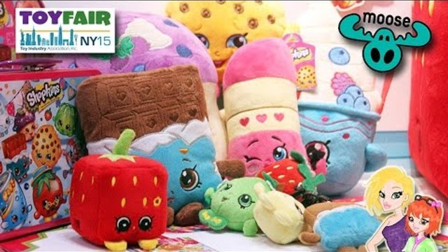 Shopkins Sneak Peek, Little Live Pets and Ugglys Pet Shop Toy Fair 2015 Moose Toys