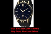 SALE Edox Men's 27033 357JN NID Grand Ocean Black And Yellow Gold Ion-Plating Date Watch