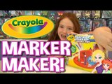 Crayola Marker Maker Review and How To | DIY Markers