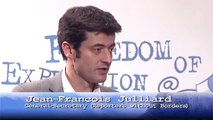 Jean-Francois Julliard (Reporters Without Borders) about Freedom of Expression on the internet