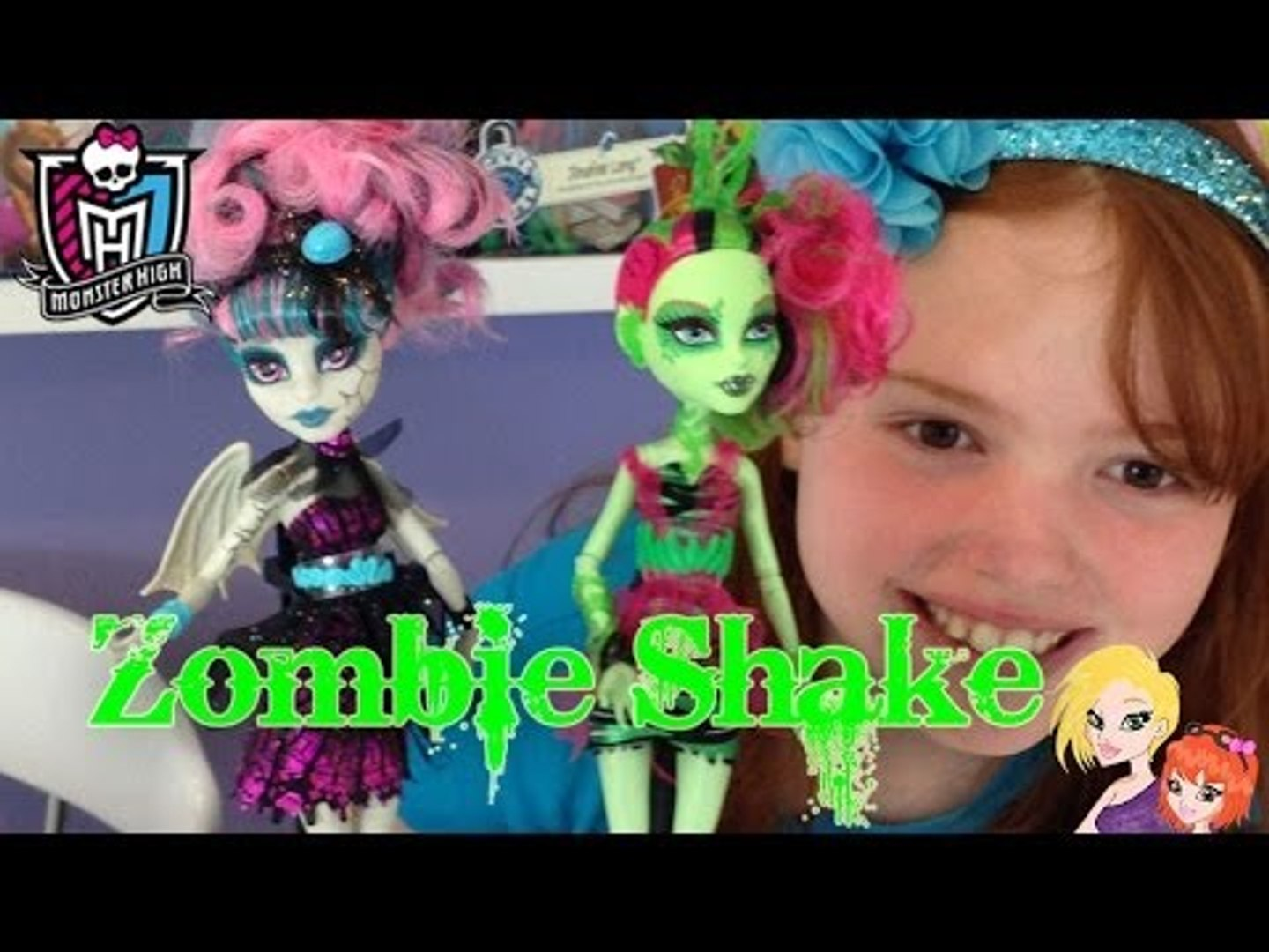 9028c33f4b0 Monster High Zombie Shake Venus and Rochelle 2Pk Doll Review - video  dailymotion