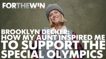 Brooklyn Decker: How my aunt inspired me to support Special Olympics
