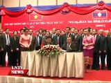 Lao NEWS on LNTV: Laos, Vietnam agree to boost cooperation in agriculture..22/7/2015