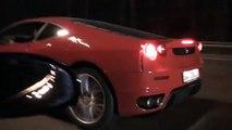 Drag Dodge Viper srt-10 vs Ferrari F430
