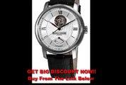 FOR SALE Baume Mercier Men's 8869 Classima Executives Open Silver Guilloche Dial Watch