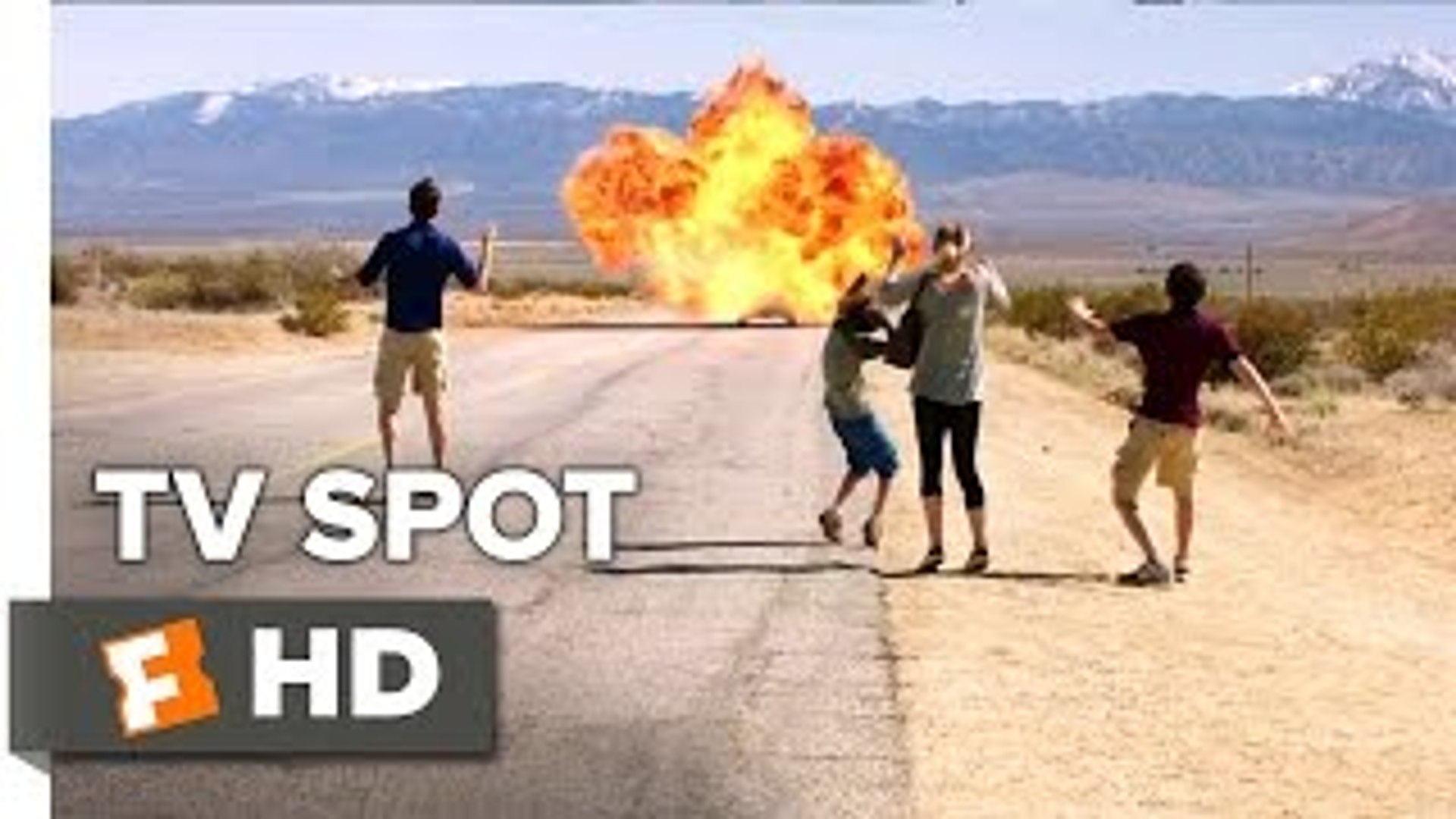 Vacation TV SPOT - Now Playing (2015) - Ed Helms, Christina Applegate Comedy Mov_HD
