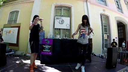 Barna Bitches 1F:6D x Ameba Live!