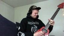 Lamb Of God - Descending guitar cover.