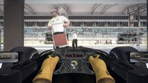 F1 2010 New Lotus-Renault R31 GP Car 2011 / Onboard with Robert Kubica