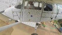 Carsh test sur un avion Cessna - recherche de la NASA