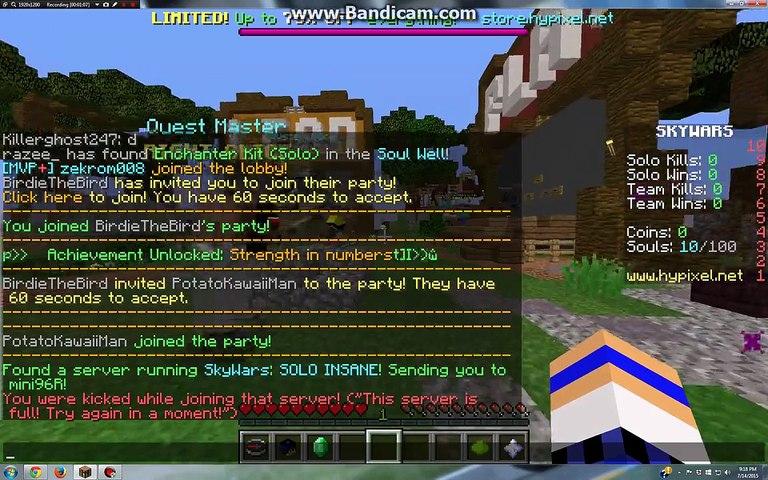 Minecraft Sky Wars Ep  5: Sky Pals!