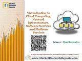 Virtualization in Cloud Computing, Network Infrastructure, Software Services and Platform Services