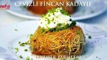 Cevizli Fincan Kadayıf Tarifi  Nefis Yemek Tarifleri