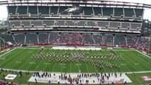 Temple University Diamond Marching Band - Half-time - TU vs USF