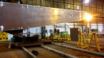 HRC OFFSHORE WELDING OIL & GAS during the building offshore crane in Energomontaz Polnoc Gdynia 2015